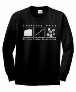 Tabletop Gaming Longsleeve
