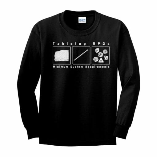 Tabletop Gaming Longsleeve