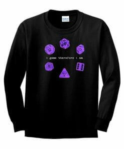 Descartes' Dice Tee