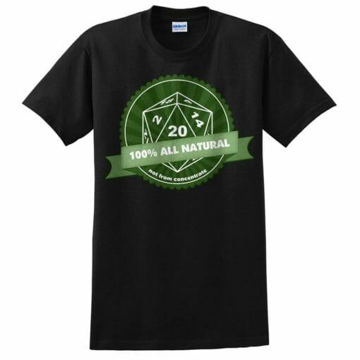 Natural 20 T-shirt