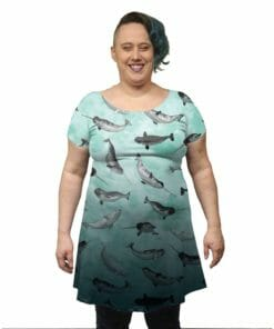 Narwhal Beluga Party Tunic Dress