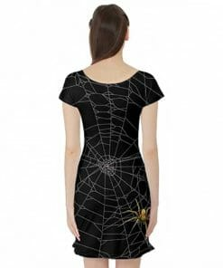 Spider Web Tunic Dress