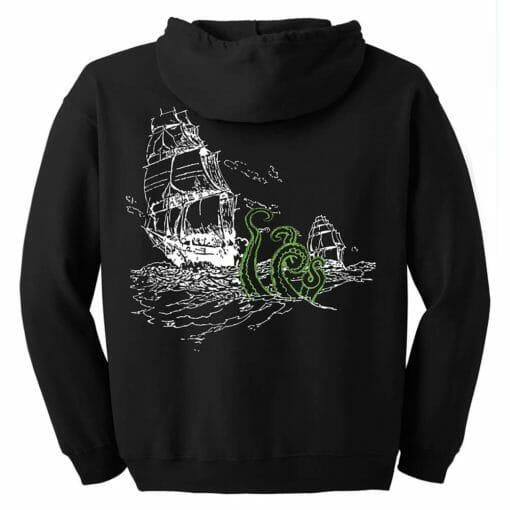 Sea Monster Zip Hoodie
