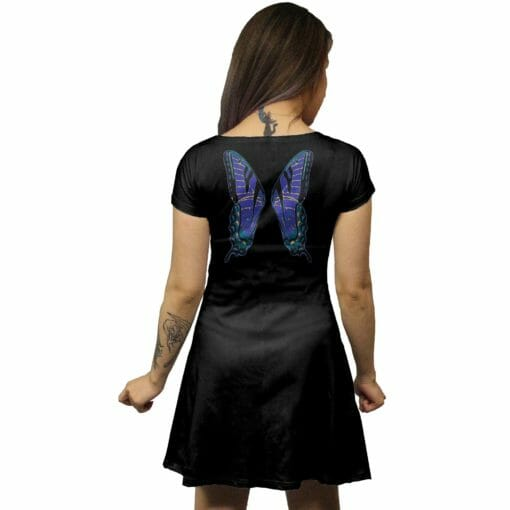 Blue Faerie Wings Tunic Dress