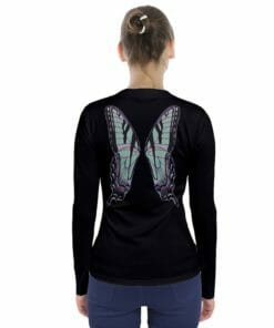 Green Fairy Wing V-Neck Long Sleeve