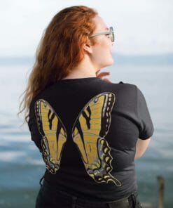 Orange Faerie Wings