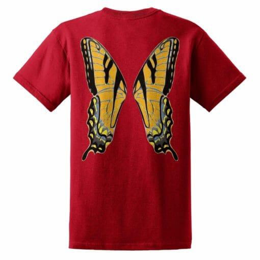 Orange Faerie Wings
