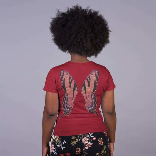 Red Fairy Wing Tee