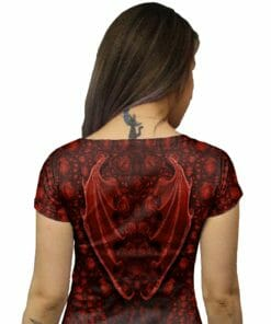 Red Dragon Tunic Dress