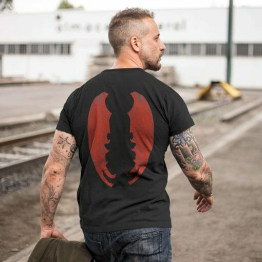 Red Dragon Wing Shirt