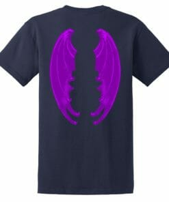 Purple Dragon Wing Tees