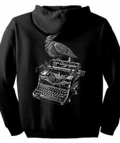 Raven on a Writing Desk Zip Hoodie