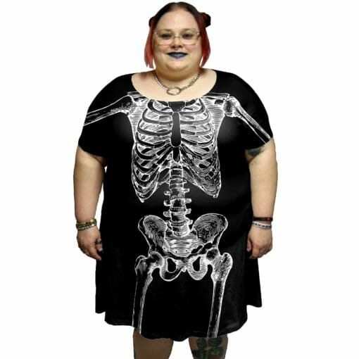 Skellington Tunic Dress
