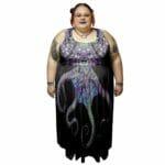 Sea Witch Empire Waist Dress