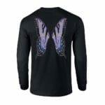 Purple Fairy Wing Long Sleeve Tee